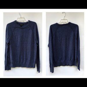 Banana Republic Blue Crew Neck sweater SZ-Medium